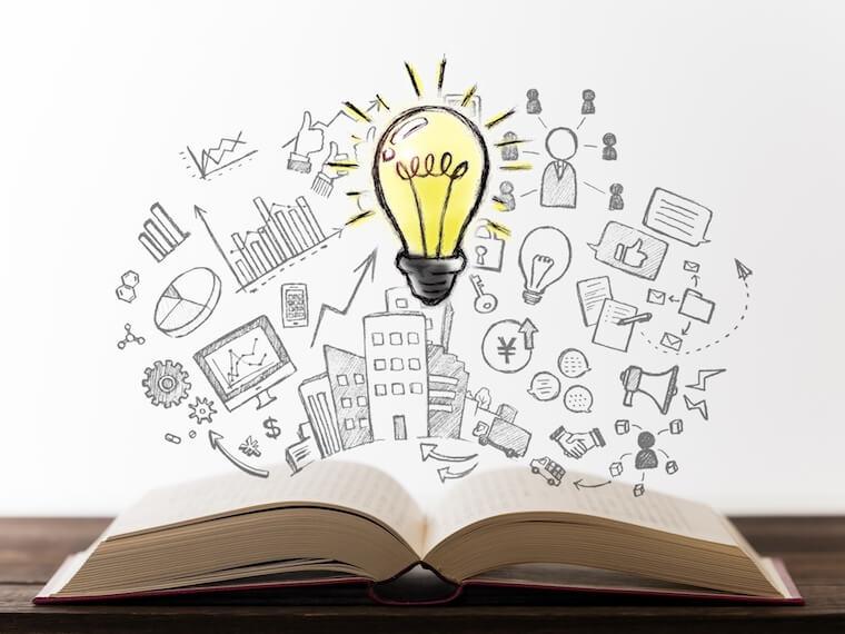 読書でビジネスアイデア得て起業する