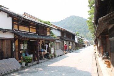 近江商人の街並み