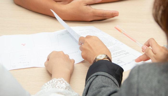 営業利益で主たる事業の成績を評価