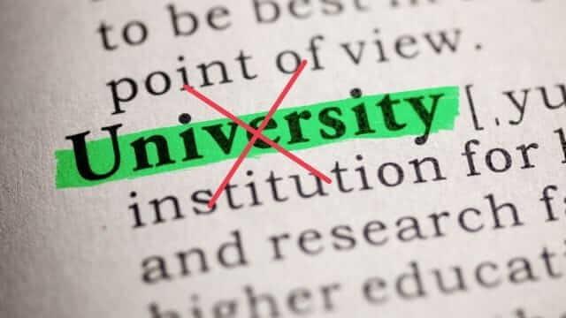 社会起業大学 学校教育法上で認められた正規の大学ではない